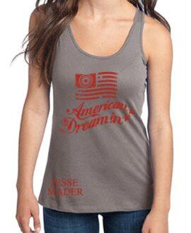 jesse-mader-urban-rock-american-dreamin-baseball-grey-red-tank-women-racer-back