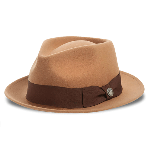 Dr-Tumbletys-Apothecary-Inspired-by-Spirits-Distilling-Co-Goorin-Bros-Pittsburgh-mr-paxton-rust-hat-men-women-style-fashion-orange-fedora-gangster-band-bow-pinched-wool-teardrop-short-brim-tan-beige