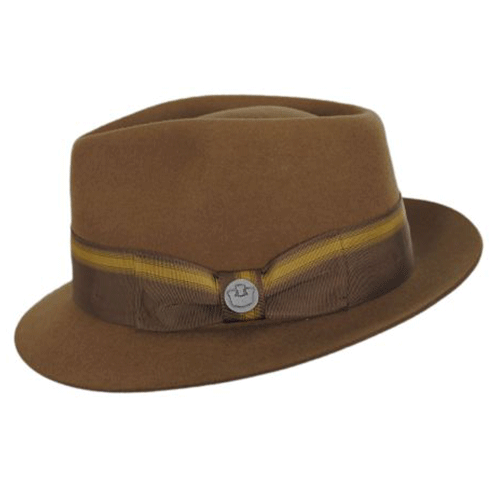 Dr-Tumbletys-Apothecary-Inspired-by-Spirits-Distilling-Co-Goorin-Bros-Pittsburgh-star-boy-charcoal-hat-men-women-style-fashion-brown-fedora-gangster-band-bow-pinched-wool-teardrop-short-brim