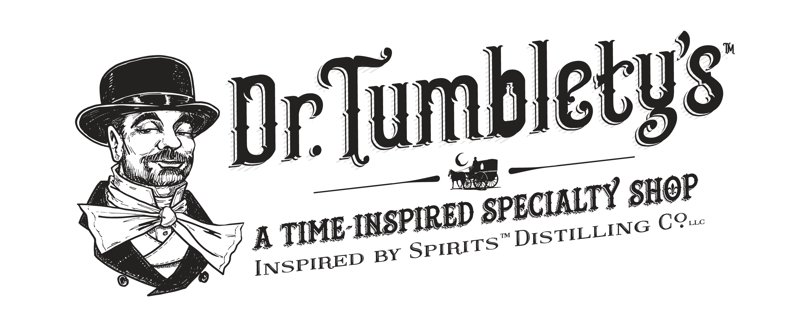 Dr. Tumblety's | A Time-Inspired Specialty Shop Logo