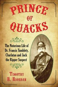 Dr-Tumbletys-Apothecary-inspired-by-spirits-distilling-company-Pittsburgh-book-prince-of-quacks-charlatan-jack-the-ripper-suspect-timothy-riordan-francis-tumblety-history-biography-snake-oil