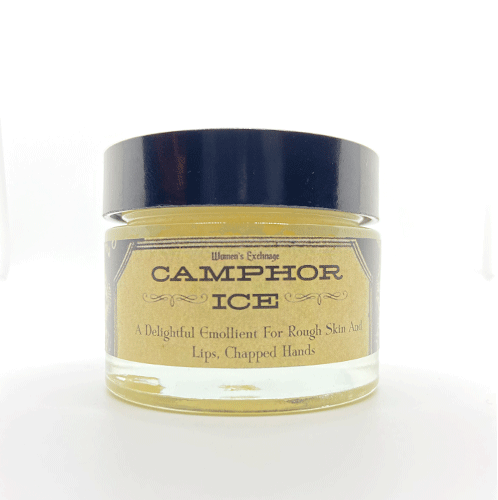 Dr-Tumbletys-Apothecary-inspired-by-spirits-distilling-company-Pittsburgh-hachette-book-group-LBCC-historical-natural-original-recipe-vintage-cosmetics-camphor-ice-1901-salve-topical-sore-muscles-skin-eczema-rosacea-sunburn-pain-relief
