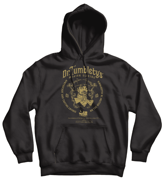 Dr-Tumbletys-Apothecary-inspired-by-spirits-distilling-company-Pittsburgh-hoodie-classic-black