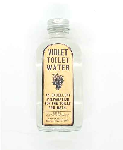 Dr-Tumbletys-Apothecary-inspired-by-spirits-distilling-company-Pittsburgh-lbcc-historical-original-recipe-authentic-vintage-natural-violet-water-1893-1927-vegan-floral-linen-room-scent-toilet-bath-oil-retro-cosmetics-relaxation-gift