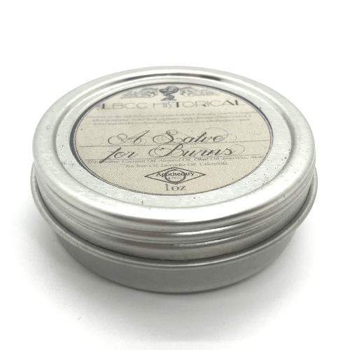 Dr-Tumbletys-Apothecary-inspired-by-spirits-distilling-company-Pittsburgh-lbcc-historical-original-recipe-authentic-vintage-salve-for-burns-natural-scars-sunburn-balm-ointment-retro-victorian