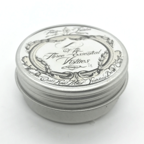Dr-Tumbletys-Apothecary-inspired-by-spirits-distilling-company-Pittsburgh-lbcc-historical-original-recipe-authentic-vintage-tooth-powder-3-essential-virtues-three-toothpaste-retro