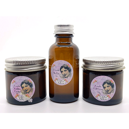 Dr-Tumbletys-Apothecary-inspired-by-spirits-distilling-company-Pittsburgh-lovely-rose-apothecary-lavender-skin-care-set-tonic-vanishing-cream-cold-cream-travel-acne-moisturize