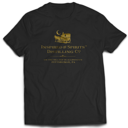 Dr-Tumbletys-Apothecary-inspired-by-spirits-distilling-company-Pittsburgh-tee-shirt-tshirt-flat-black-gold-logo2