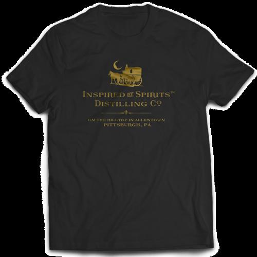 Dr-Tumbletys-Apothecary-inspired-by-spirits-distilling-company-Pittsburgh-tee-shirt-tshirt-flat-black-gold-logo2