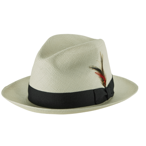 Dr-Tumbletys-Apothecary-Inspired-by-Spirits-Distilling-Co-NY-HAT-CO-Pittsburgh-Panama-Straw-Fedora-Natural-white-pinched-tear-drop-crown-black-band-short-brim-gangster-miami