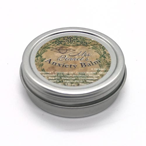 Dr-Tumbletys-apothecary-shop-inspired-by-spirits-distilling-co-pittsburgh-allentown-LBCC-Historical-Mrs-Bennets-Anxiety-Balm-original-recipe-natural-victorian-cosmetics-beeswax-coconut-oil-lavender-gum-benjamin-myrrh-chamomile-valerian-nettle-lemon-relax-stress-calm-peace