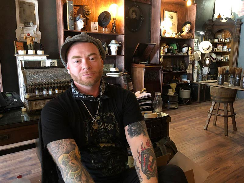 WESA-metal-punk-offbeat-katie-blackley-jared-murphy-for-The-Pittsburgh-Post-Gazette-Dr-Tumblety's-Apothecary-Pittsburgh-Allentown-Inspired-by-Spirits-Distilling-Co-jesse-mader