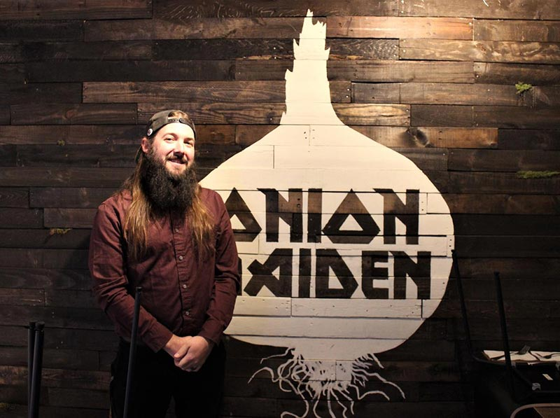 WESA-metal-punk-offbeat-katie-blackley-jared-murphy-for-The-Pittsburgh-Post-Gazette-Dr-Tumblety's-Apothecary-Pittsburgh-Allentown-Inspired-by-Spirits-Distilling-Co-onion-maiden-brooks