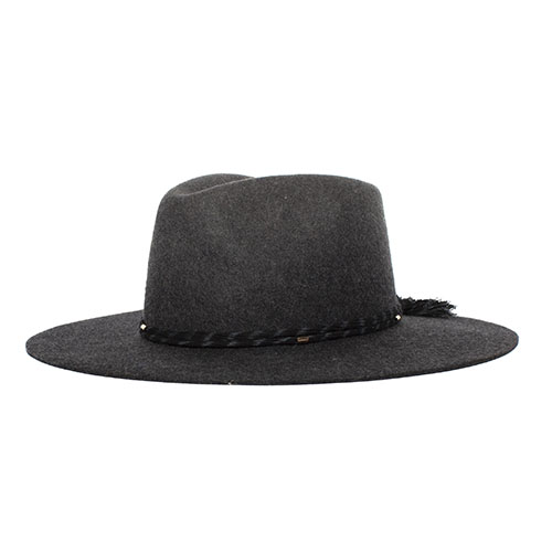 Dr-Tumbletys-Apothecary-Inspired-by-Spirits-Distilling-Co-Goorin-Bros-Pittsburgh_Allentown-Hilltop_Country-Boy-Wide-brim-grey-charcoal-fedora-western-teardrop-black