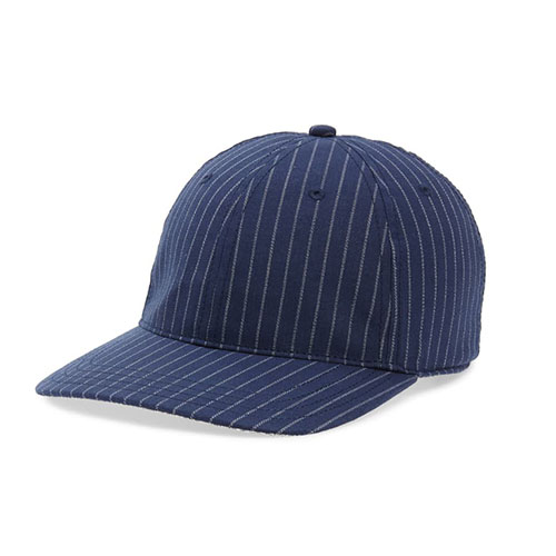 Dr-Tumbletys-Apothecary-Inspired-by-Spirits-Distilling-Co-Goorin-Bros-Pittsburgh_Allentown-Hilltop_Loosen-Up-Blue-baseball-ball-cap-blue-navy-pinstripe-dad-hat-curved-brim